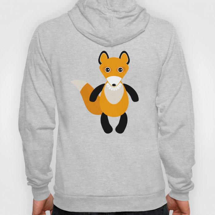 Fox and birds in the forest Hoody