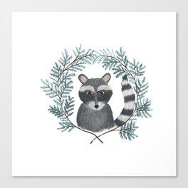 Banjo the Raccoon Canvas Print