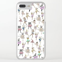 Animal Ballet Hipsters LV Clear iPhone Case