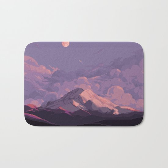 Mt Rainier Bath Mat