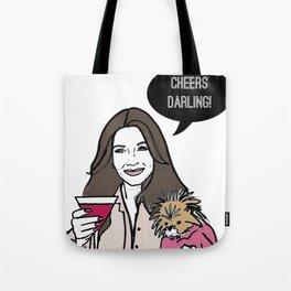 Cheers Darling Tote Bag