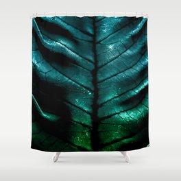 Dragon Spine (Blue Version) Shower Curtain