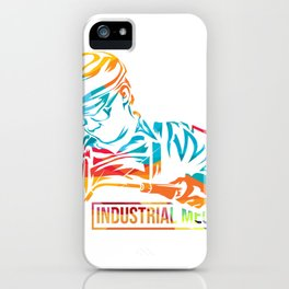 Industrial Mechanic iPhone Case