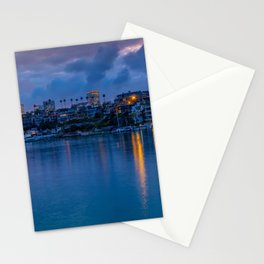 Newport Harbor Dawn Stationery Cards