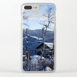 Safe Haven Clear iPhone Case