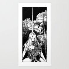 asc 706 - Le mystère Mang (The Mang mystery) Art Print