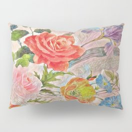 Spring Floral - Painterly Pillow Sham
