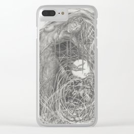 Key Turning Clear iPhone Case