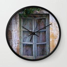 """NOTO - Baroque Town - OLD WINDOW -""""Vacancy"""" zine Wall Clock"""