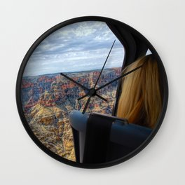 Take The Day and Fly - Part II Wall Clock