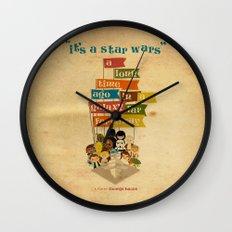 It's A Star Wars Wall Clock