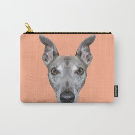 Whippet // Peach (Vespa) Carry-All Pouch