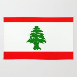 Flag of Lebanon Rug
