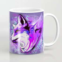 Purple Fox Spirit Coffee Mug
