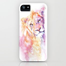 Lazy Days - African Lion iPhone Case