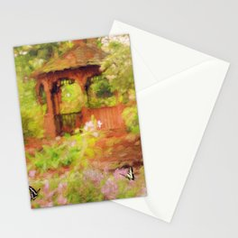 Paradise Garden Stationery Cards