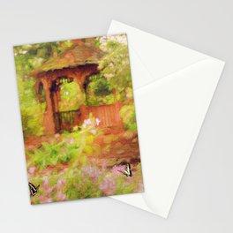 Paradise Garden Stationery Cards