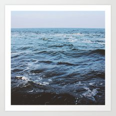 Water sea 4 Art Print