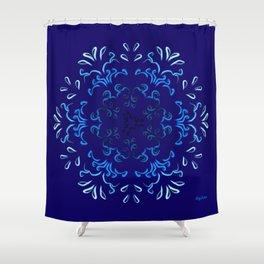 """Hakakā a hohonu"" (lucha profunda de otoño) Shower Curtain"