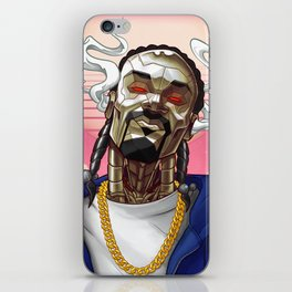 Snoop Bot iPhone Skin