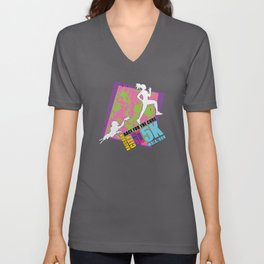 Race for the Cure: T-Virus Awareness Unisex V-Neck