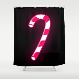 Candy Canes Shower Curtain