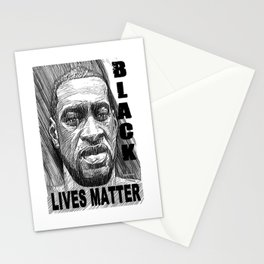 George Floyd - Black Lives Matter Stationery Cards
