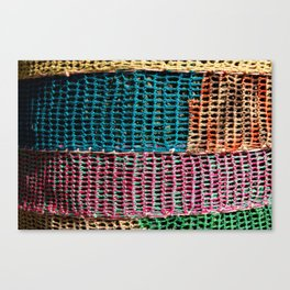 Tricot Canvas Print