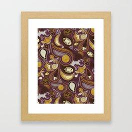 Potter Paisley Framed Art Print