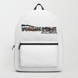 Tombstone Arizona Big Letter Backpack