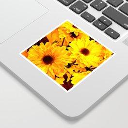 Daisies Yellow 3 Sticker