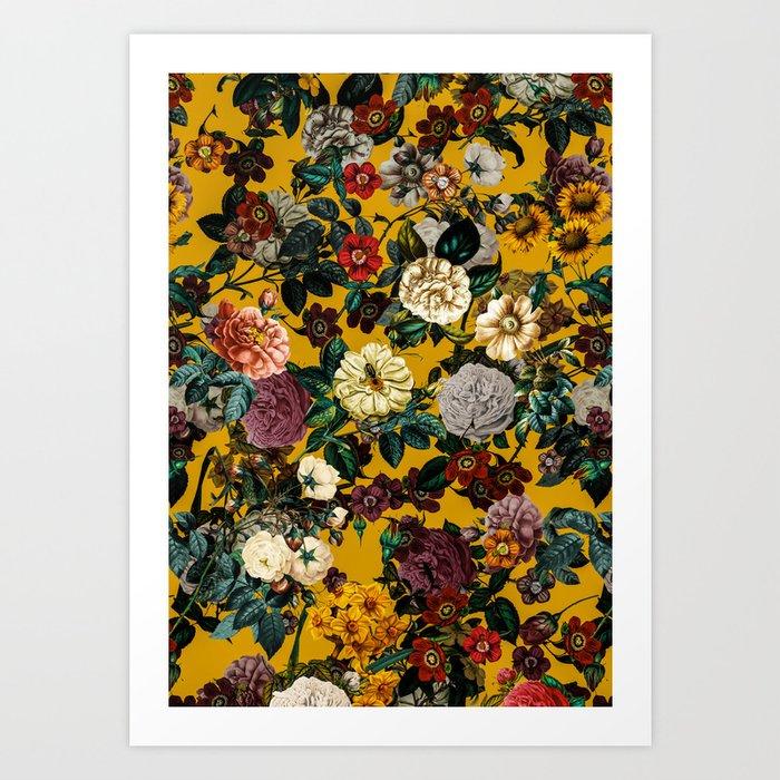 Exotic Garden V Art Print