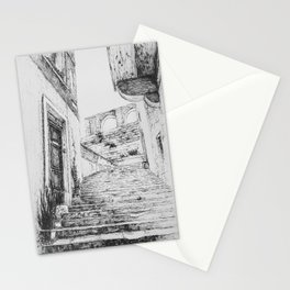 Stairs to Malta Stationery Cards