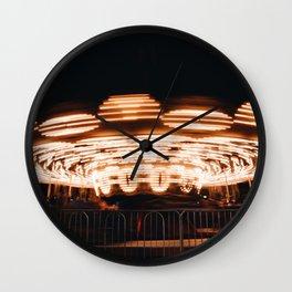 Round-And-Round Wall Clock