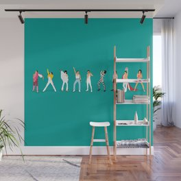 Freddie Wall Mural