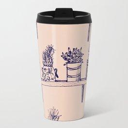 Succulent Fever Vintage Travel Mug