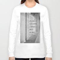 jane austen Long Sleeve T-shirts featuring Jane Austen Book by KimberosePhotography