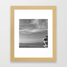 Istanbul No:1 Framed Art Print