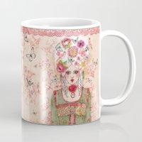 marie antoinette Mugs featuring Marie-Antoinette by Minasmoke