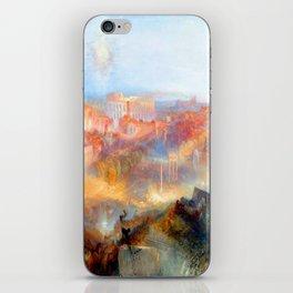 William Turner Modern Rome iPhone Skin