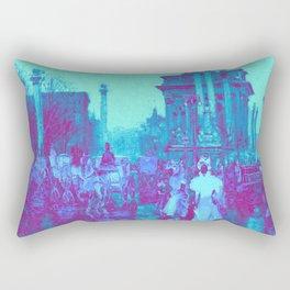 long ago (featurless) Rectangular Pillow