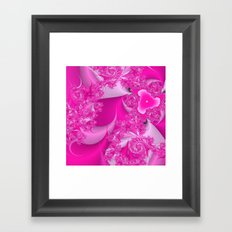 Pretty N Pink Framed Art Print