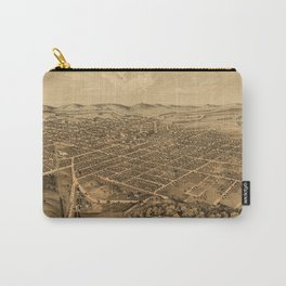 Map Of Kalamazoo 1874 Carry-All Pouch