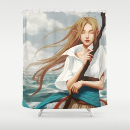 Nalia de Bastion Shower Curtain
