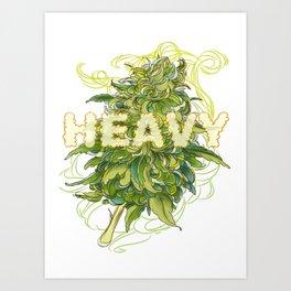 heavy Art Print