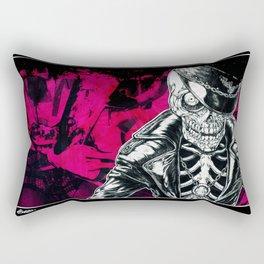 Skull rider Rectangular Pillow
