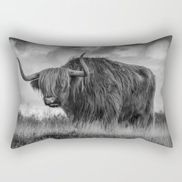 Highland Scottish Cow Rectangular Pillow