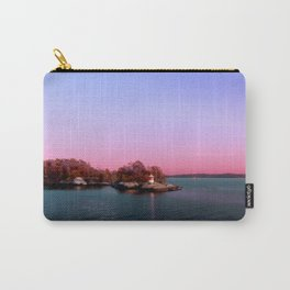 Sunset Over The Island Carry-All Pouch