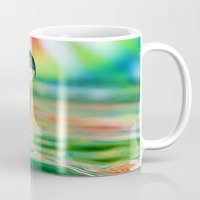 splash Mugs featuring SPLASH by ThePhotoGuyDarren