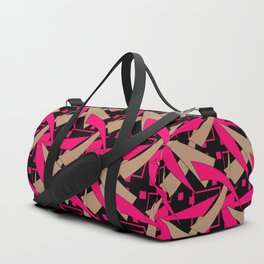 Creative abstract pattern . Geometric shapes .4 Duffle Bag
